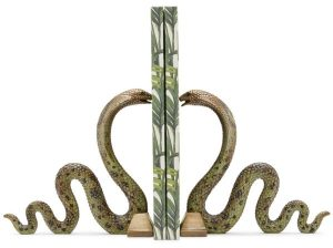 serpent_bookends