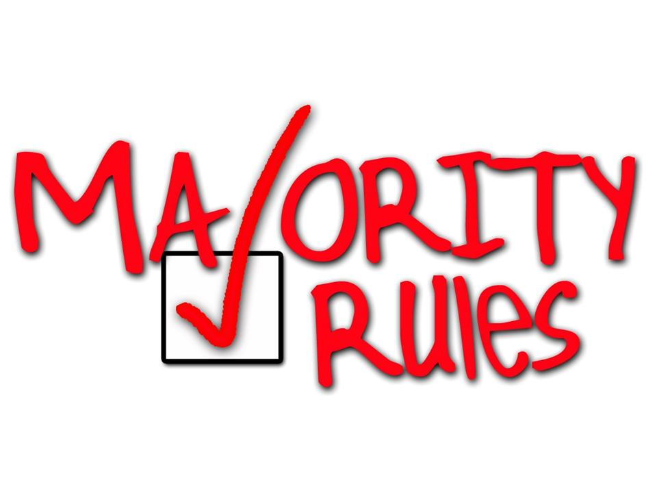 a discussion on the majority rule Please provide an exact quote of the rule(s) general discussion majority of cumulative votes theme default (default) copy of default contact us.